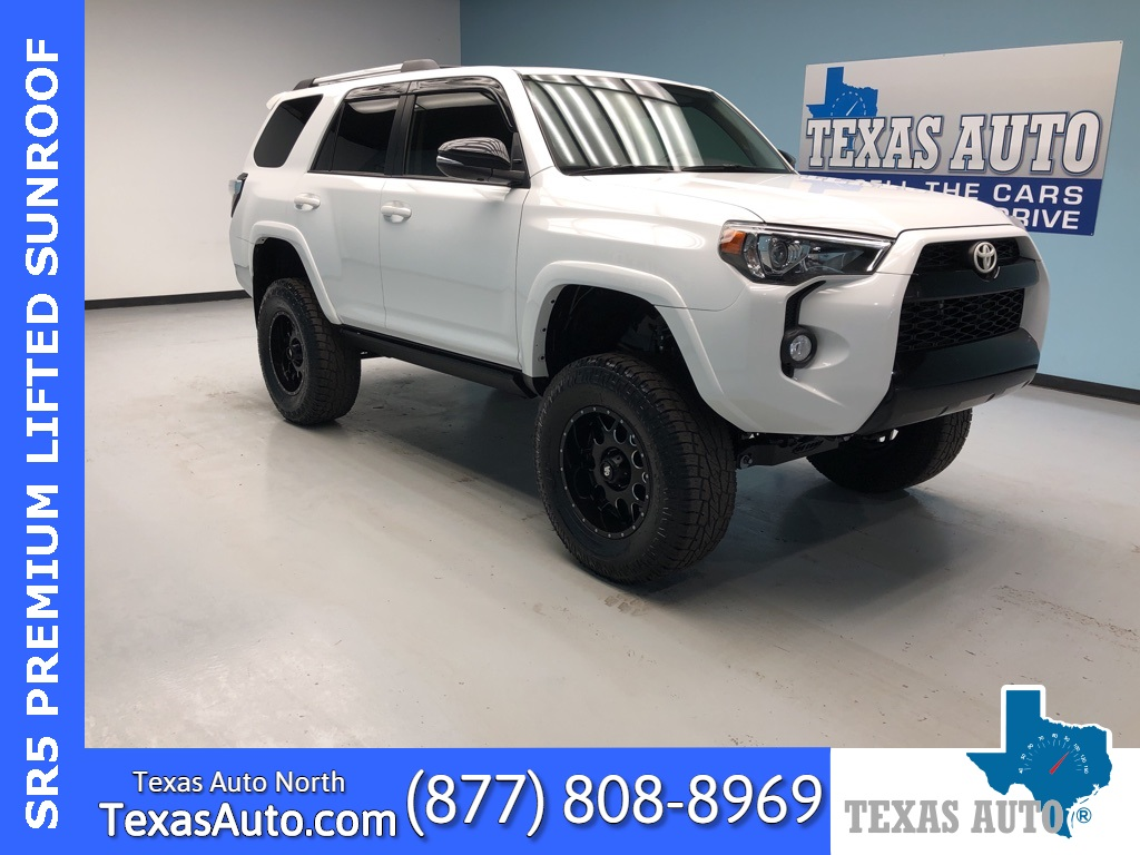 2016 Toyota 4Runner SR5 Premium LIFTED-PREMIUM-NAVI-ROOF-LEATHER