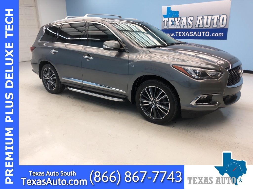2017 INFINITI QX60 Base TECH-THEATER-PREM PLUS-NAVI-DVD