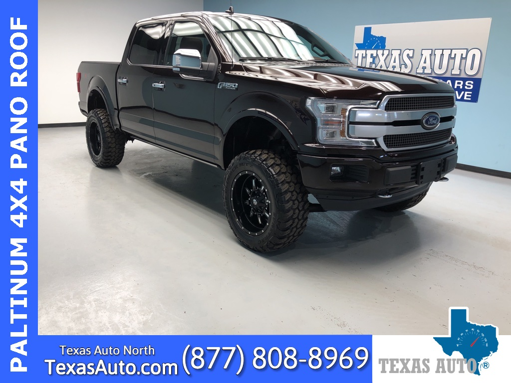 2020 Ford F-150 Platinum LIFTED-PANO-REAR CAM-NAVI