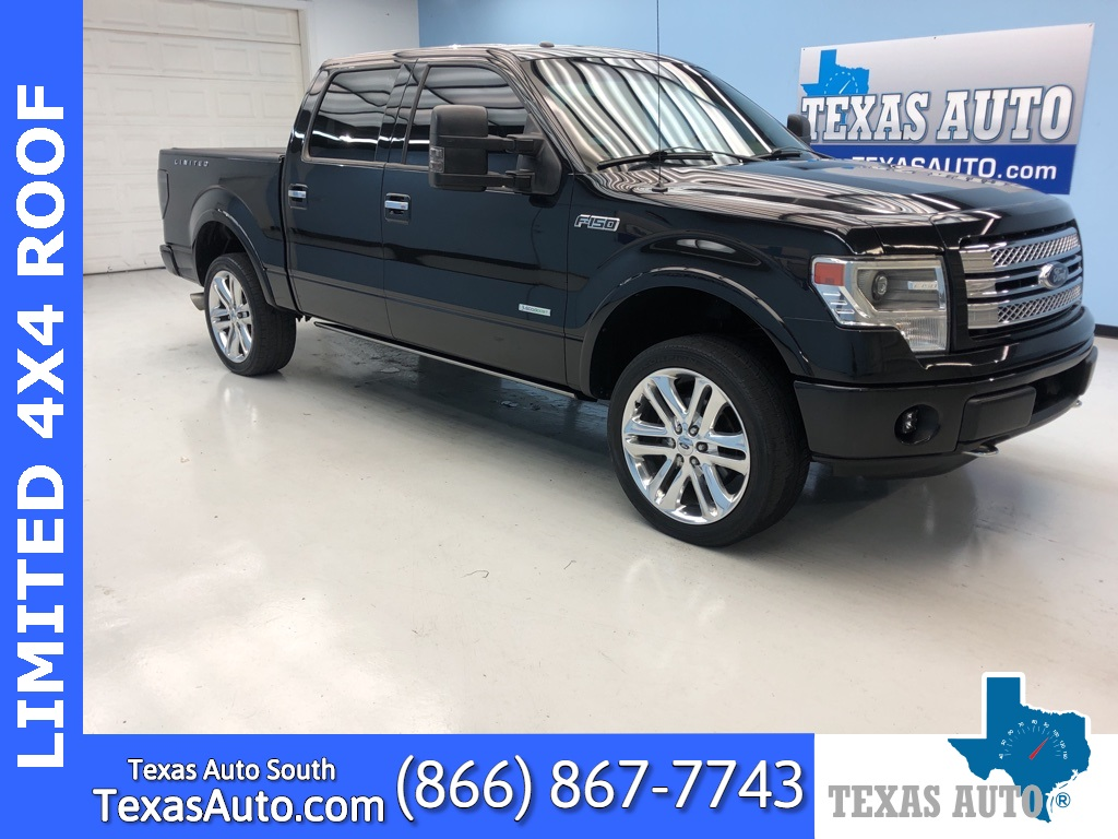2013 Ford F-150 Limited NAVI-ROOF-LUXURY DESIGN