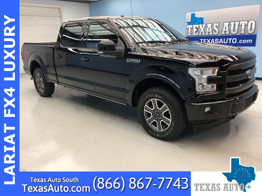 2017 Ford F-150 Lariat FX4 OFF ROAD-NAVI-PANO-BUCKETS