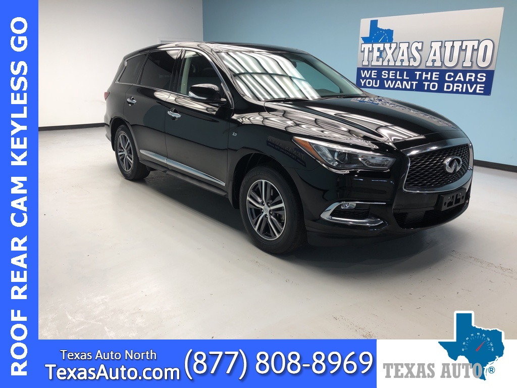 2017 INFINITI QX60 Base LEATHER-ROOF-REAR CAM