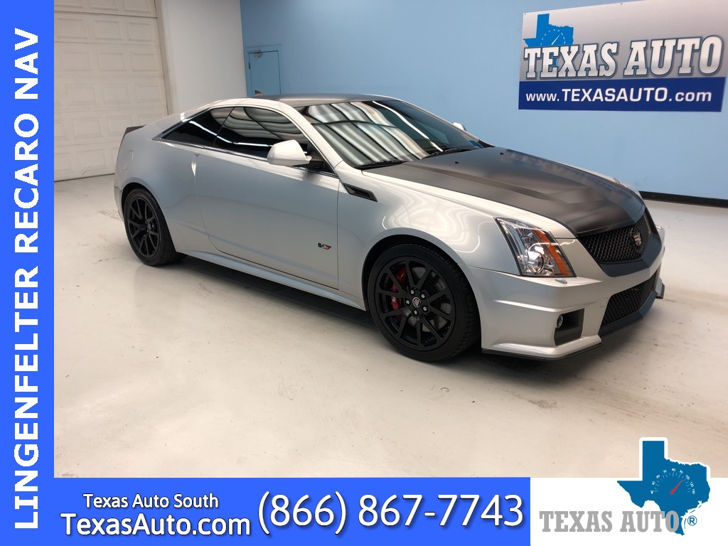 2013 Cadillac CTS-V Base RARE!!! LINGENFELTER PERFORMANCE BUILD!!