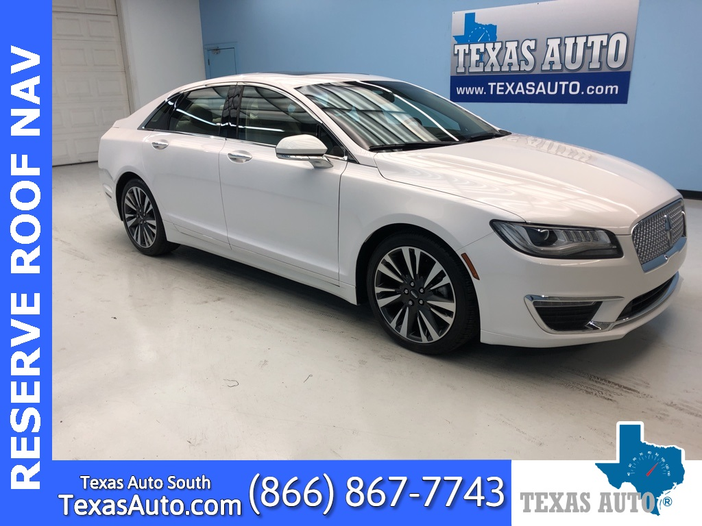2017 Lincoln MKZ Reserve NAVI-ROOF-LEATHER