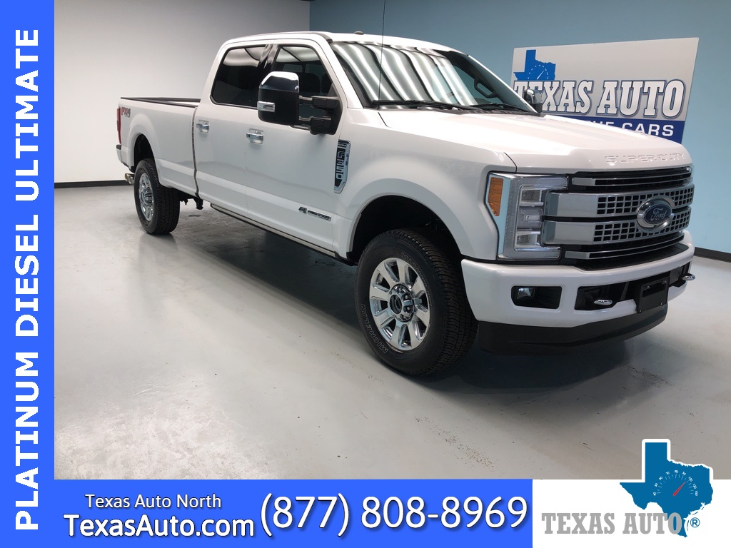 2018 Ford F-350SD Platinum ULTIMATE-FX4-NAVI-PANO-REAR CAM