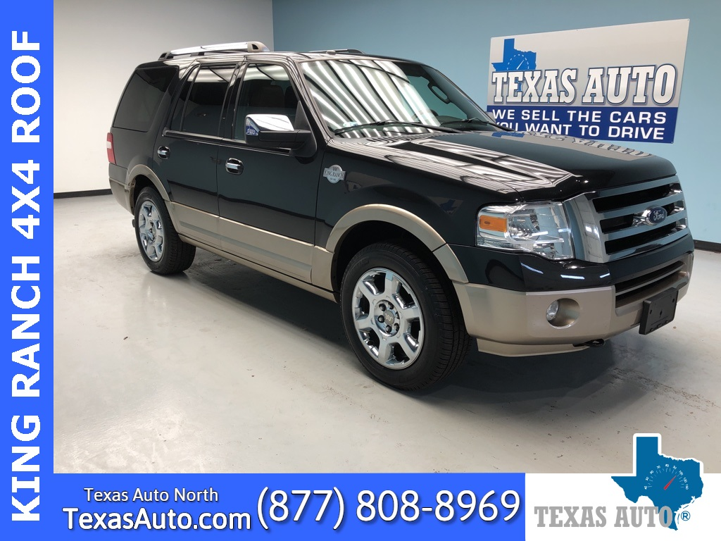 2014 Ford Expedition King Ranch NAVI-ROOF