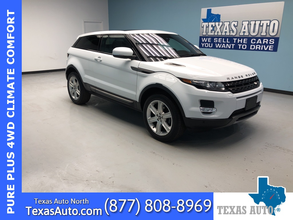 2013 Land Rover Range Rover Evoque Pure Plus NAVI-ROOF-REAR CAM