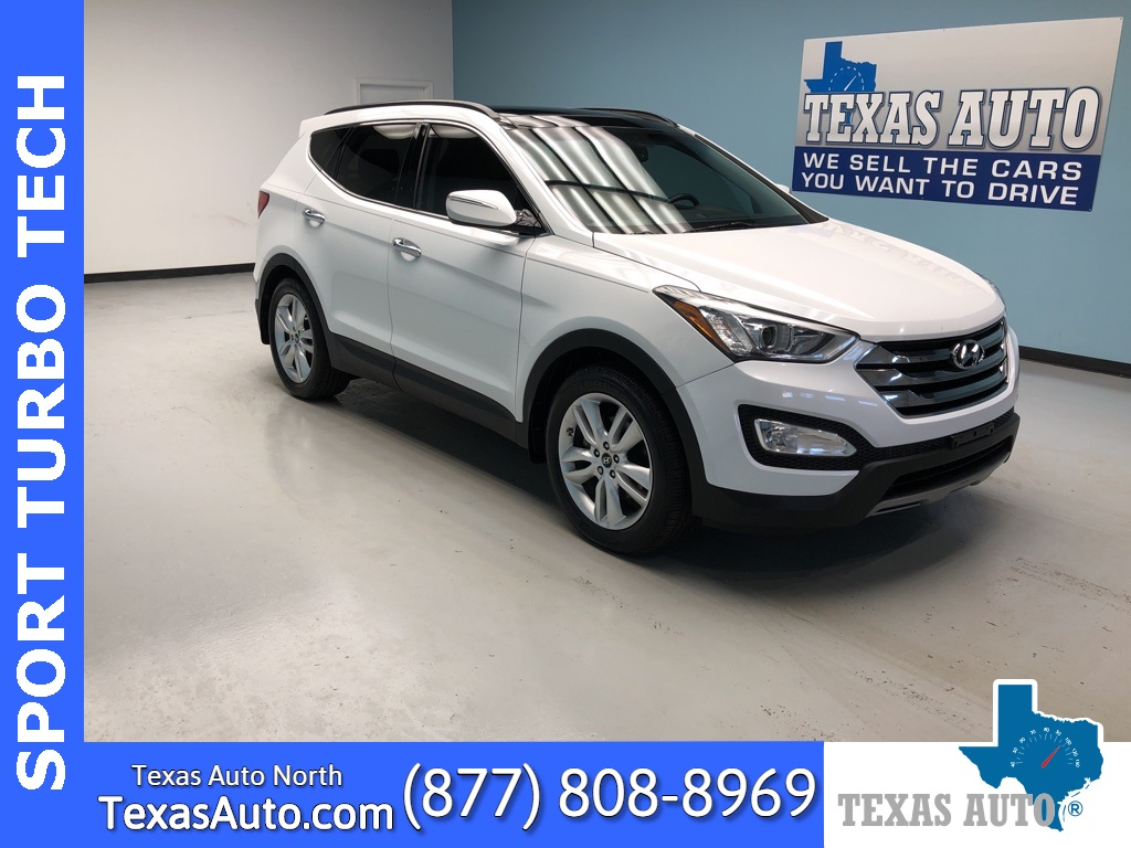 2014 Hyundai Santa Fe Sport 2.0L Turbo PANO-TECH-REAR CAM