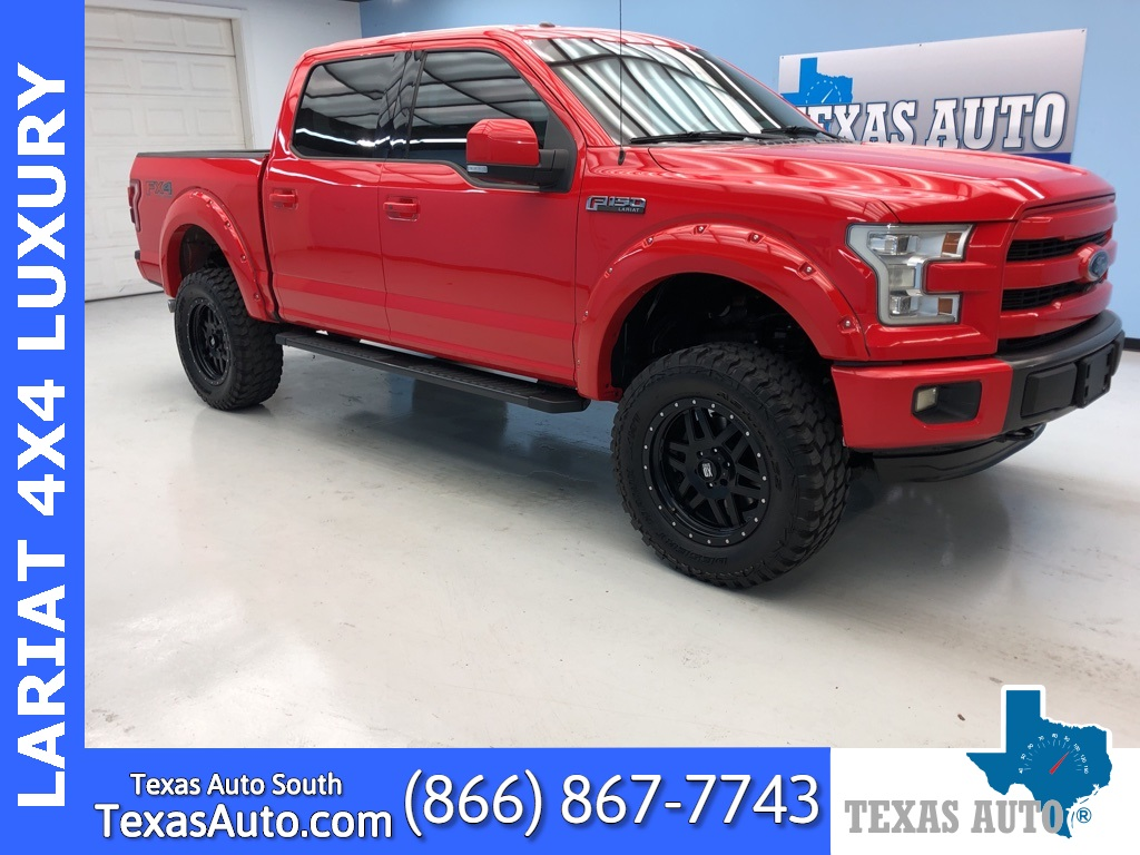 2015 Ford F-150 Lariat LUXURY-LIFTED-NAVI-REAR CAM