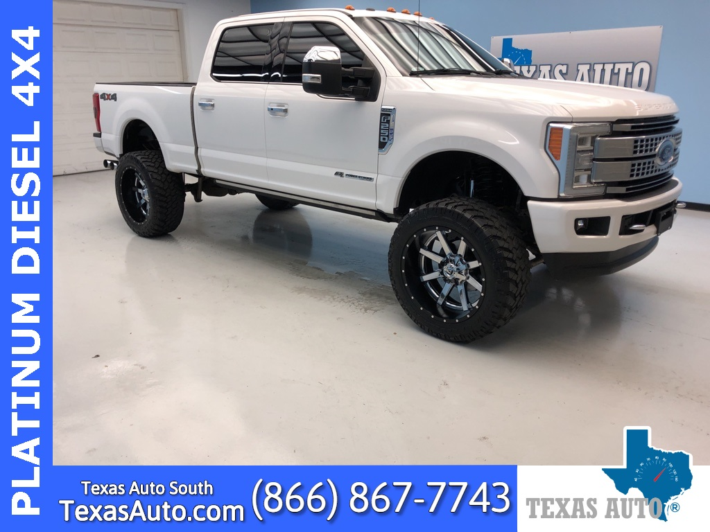 2017 Ford F-250SD Platinum LIFTED-ULTIMATE-NAVI-REAR CAM