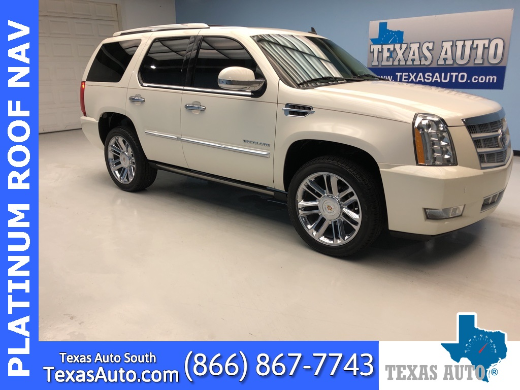 2012 Cadillac Escalade Platinum Edition NAVI-ROOF-BUCKET