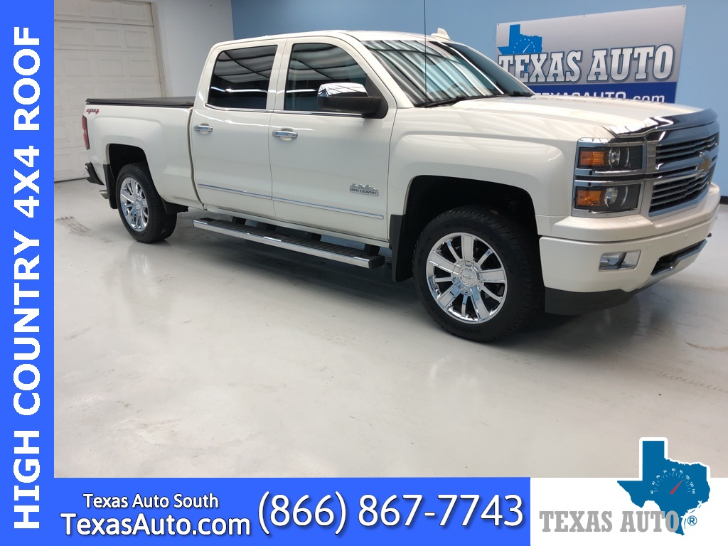 2015 Chevrolet Silverado 1500 High Country ROOF-NAVI-REAR CAM