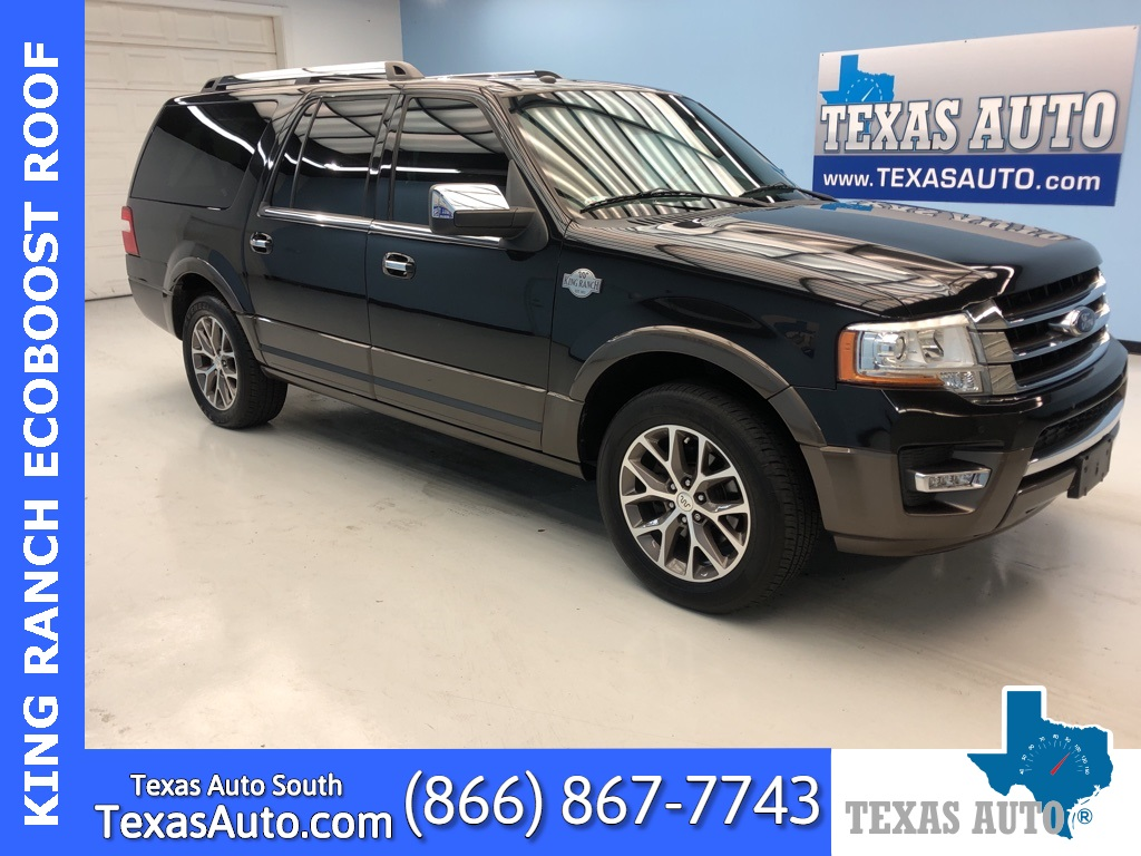 2015 Ford Expedition EL King Ranch LEATHER-ROOF-NAVI