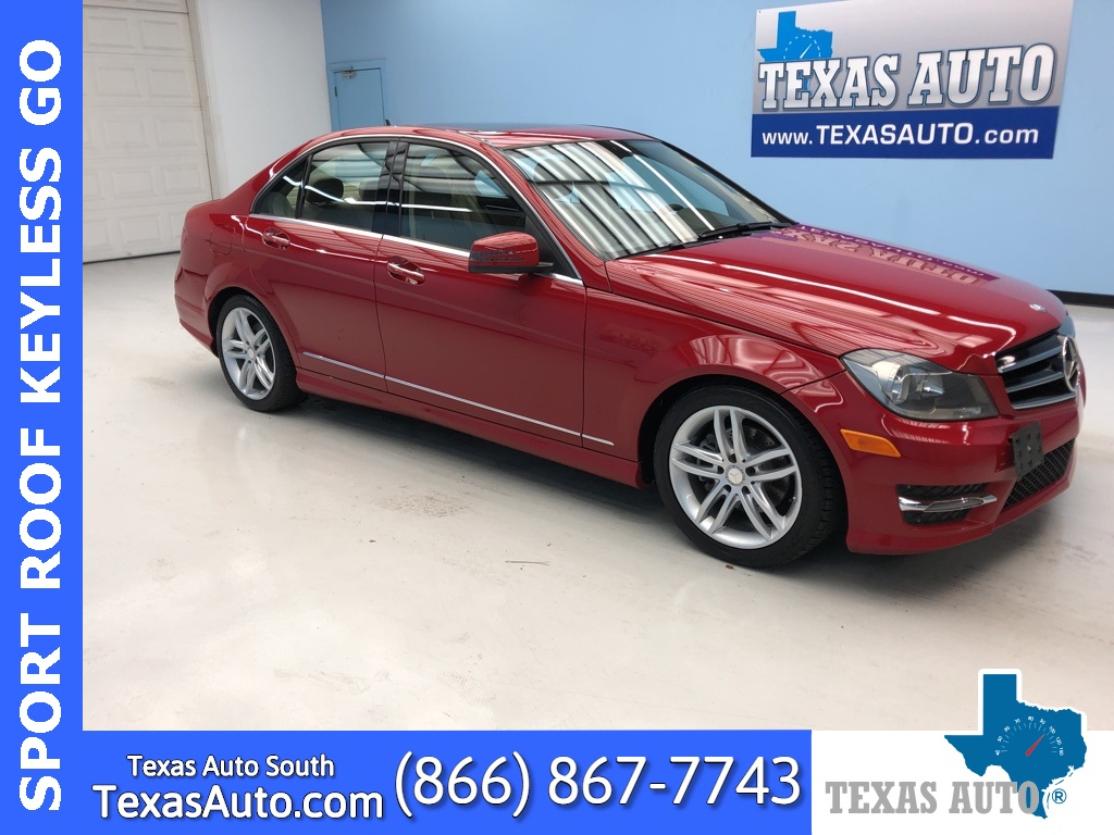 sold 2014 mercedes benz c class c 250 sport roof amg wheels in webster texas auto