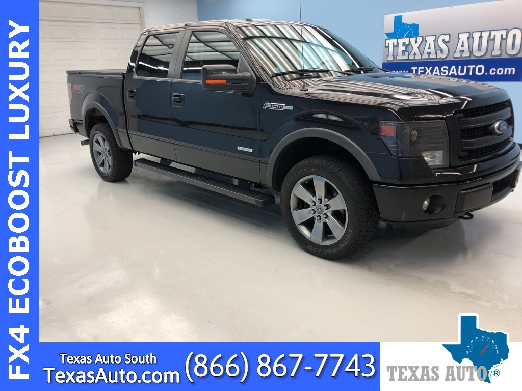 2014 Ford F-150 FX4 LUXURY PACKAGE-NAVI-ROOF