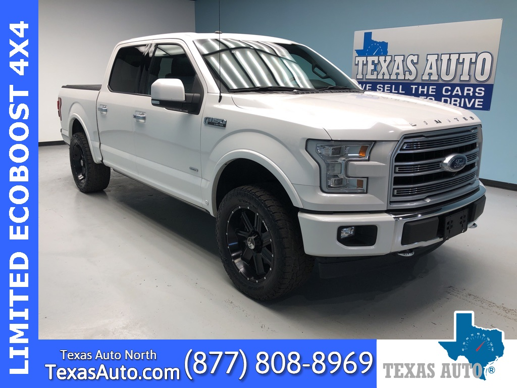 2017 Ford F-150 Limited LEATHER-ROOF-NAVI