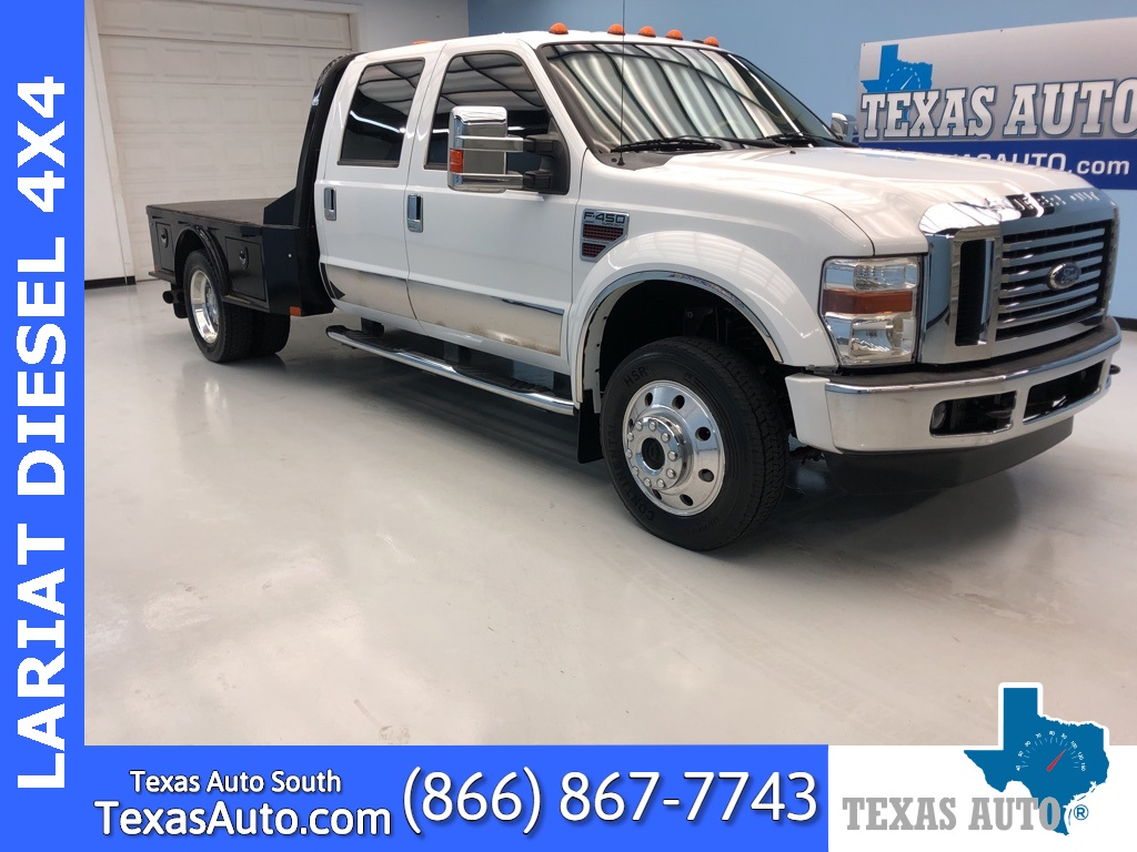 2008 Ford F-450SD Lariat DRW-FLAT BED