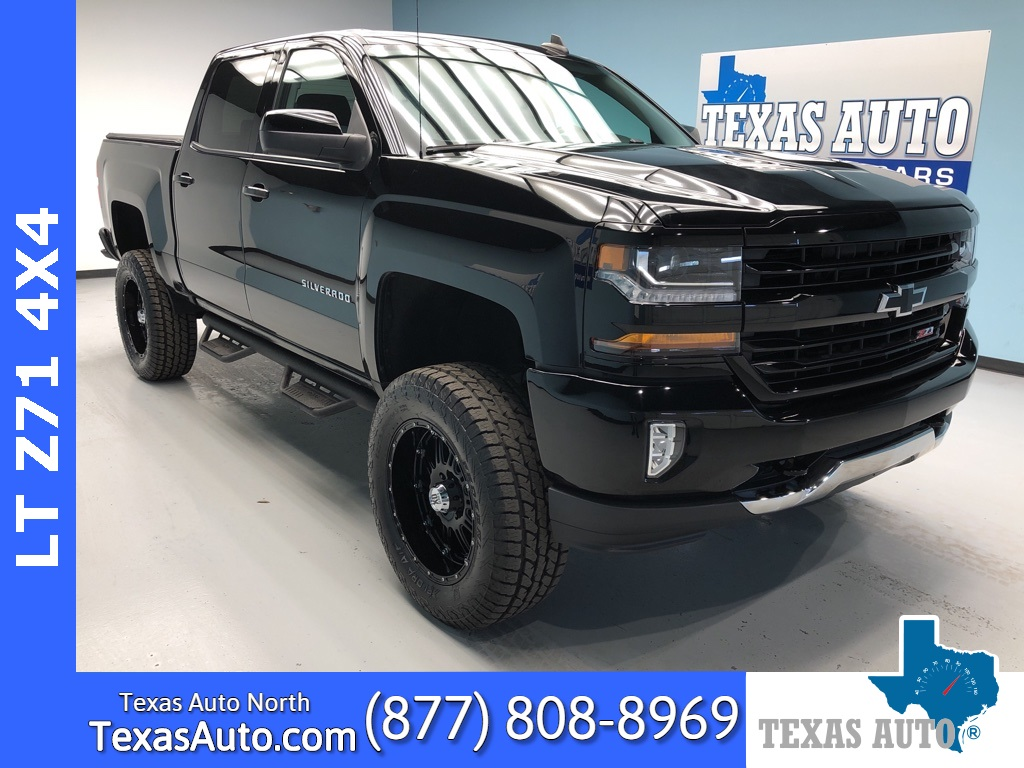 2017 Chevrolet Silverado 1500 LT LT1-LIFTED-REAR CAM-Z71