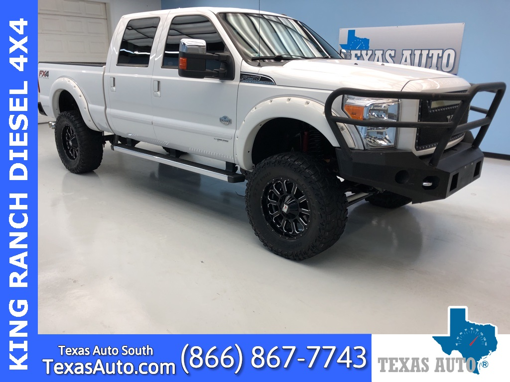 2015 Ford F-250SD King Ranch LIFTED-NAVI-ROOF-REAR CAM