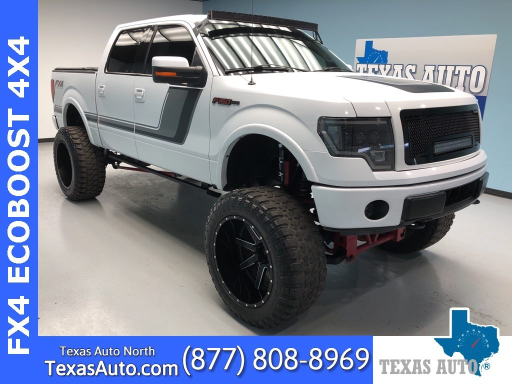Sold 2014 Ford F 150 Fx4 Lifted Lux Appearance Navi Roof Rear Cam In Houston