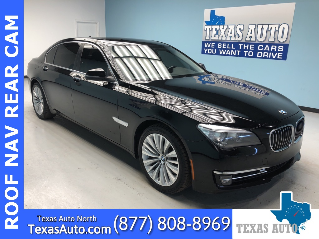 2015 BMW 7 Series 740Li NAVI-ROOF-REAR CAM-4 ZONE