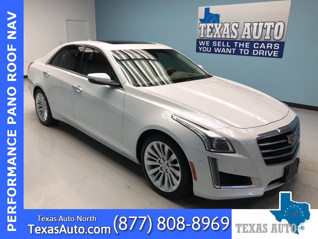 2015 Cadillac CTS 3.6L Performance NAVI-ROOF-REAR CAM-LANE DEPART
