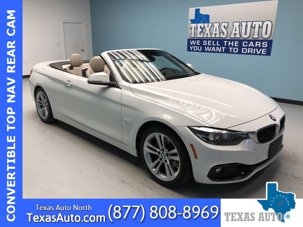 2018 BMW 4 Series 430i NAVI-REAR CAM-ESSENTIALS PKG