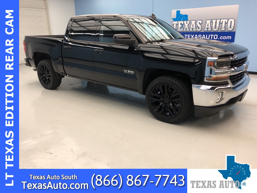 2018 Chevrolet Silverado 1500 LT LT1-TEXAS EDITION-BUCKETS