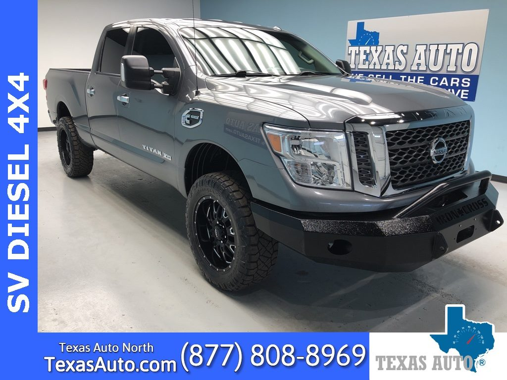 Sold 2018 Nissan Titan Xd Sv Lifted In Houston