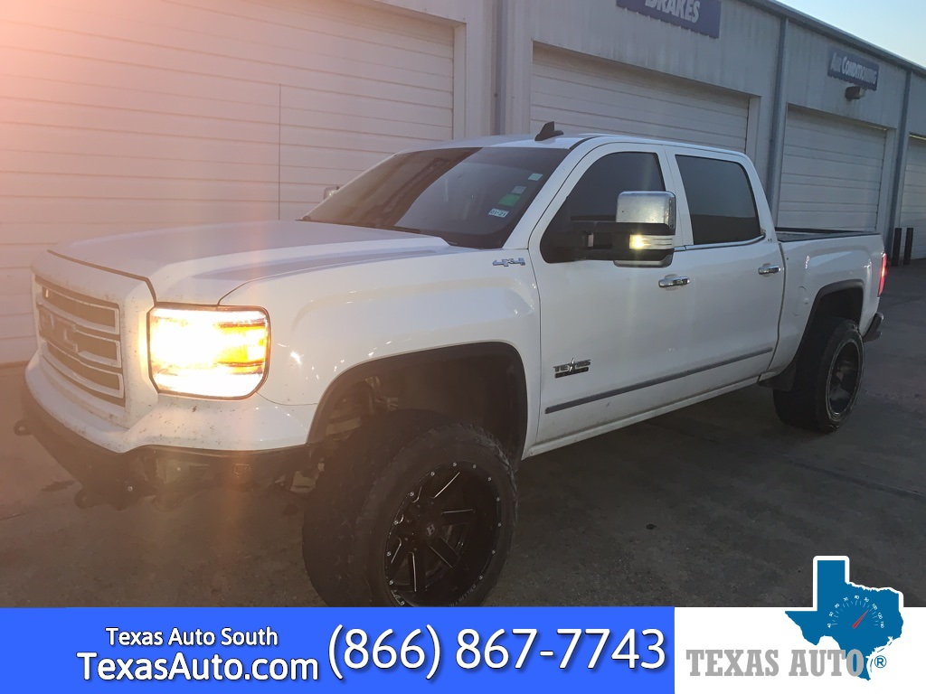 2015 GMC Sierra 1500 SLT LIFTED