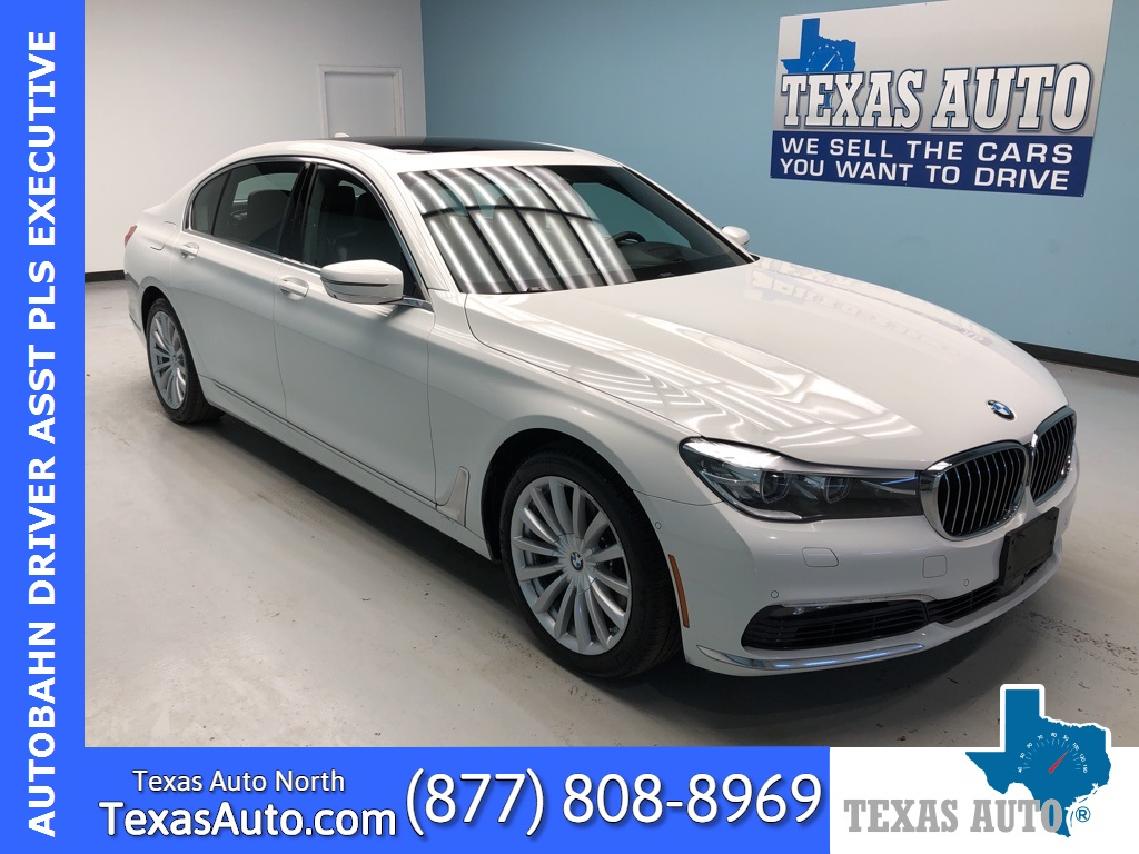 2016 BMW 7 Series 740i AUTOBANH EDITION-EXECUTIVE-DRIVE ASST PLUS