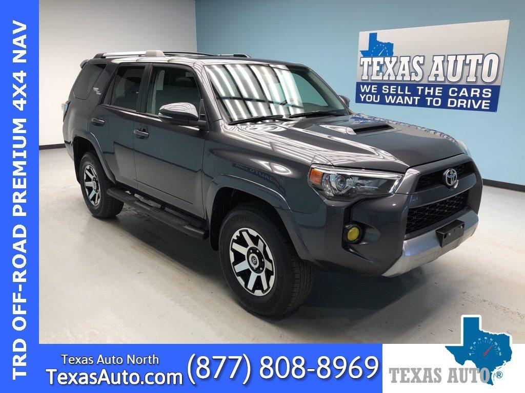 Used 2018 Toyota 4runner Trd Off Road Premium In Houston