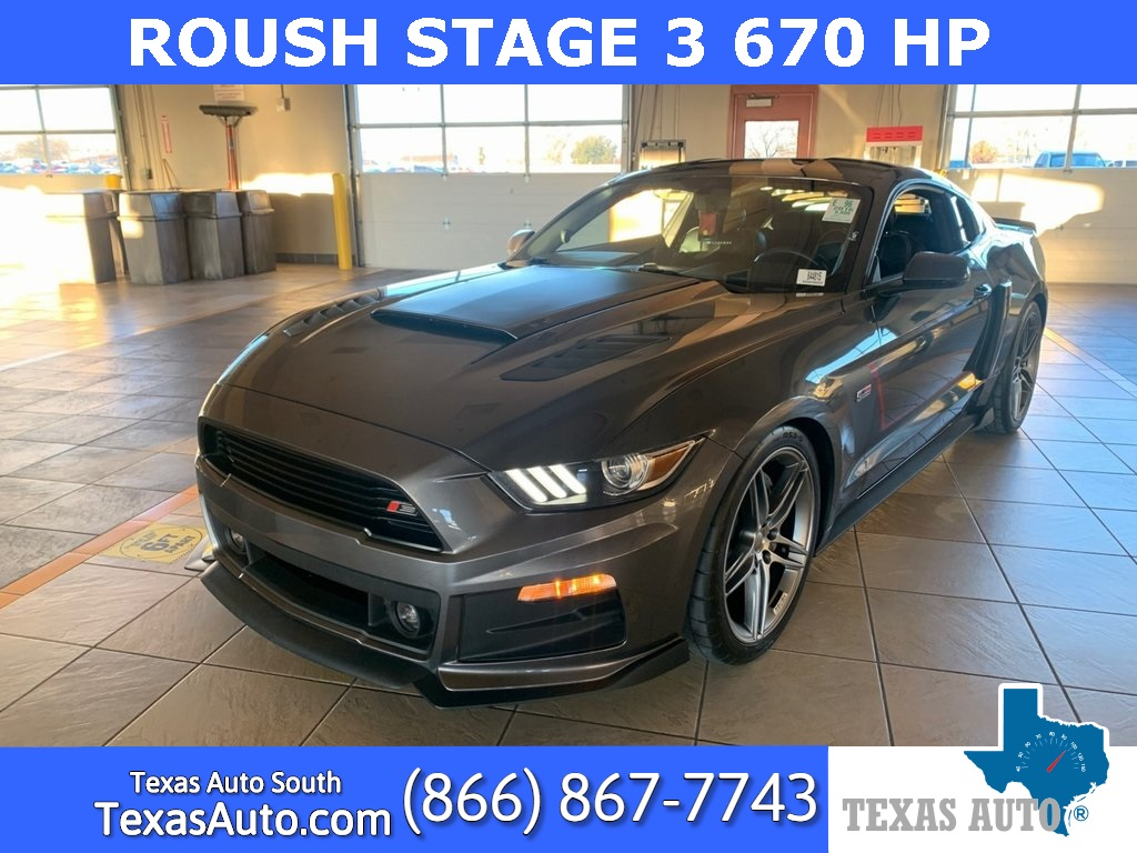 2016 Ford Mustang GT ROUSH STAGE 3 SUPERCHARGED
