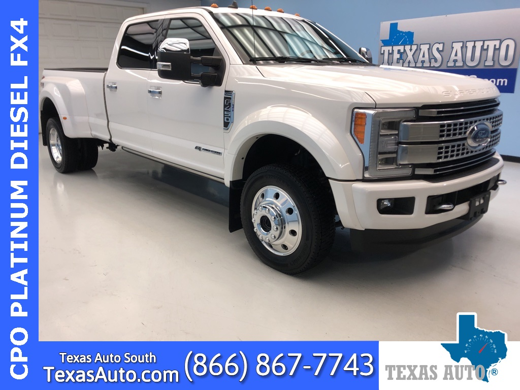 2019 Ford F-450SD Platinum DRW