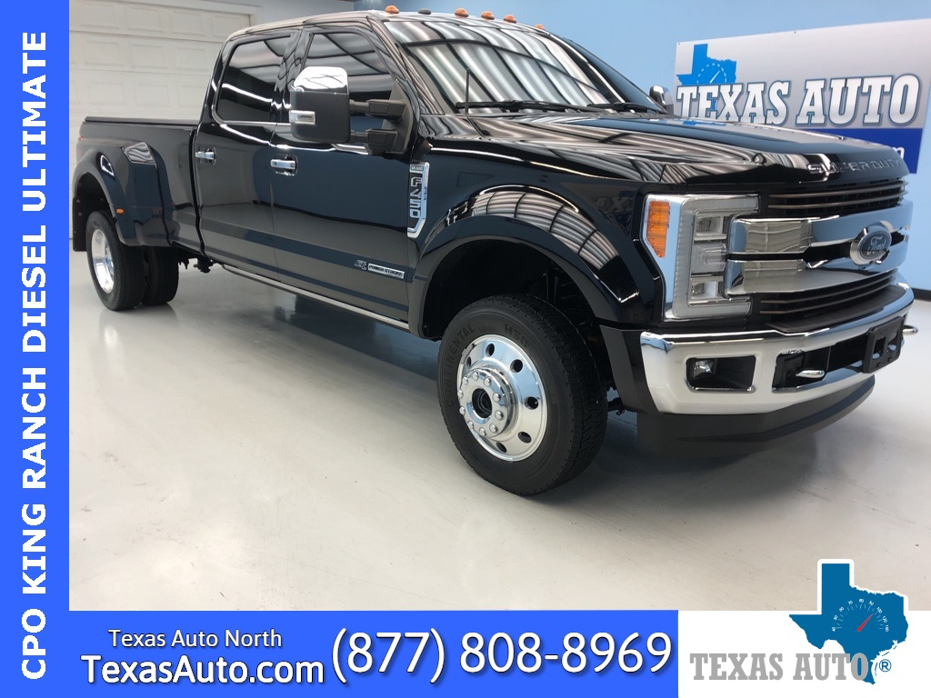 2018 Ford F-450SD King Ranch DRW