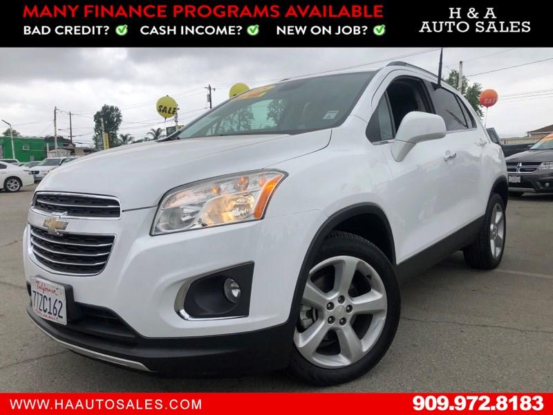 2015 Chevrolet Trax Ltz H A Auto Sales