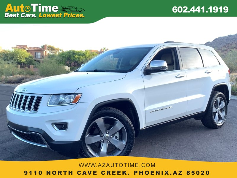 2014 Jeep Grand Cherokee Limited - Auto Time