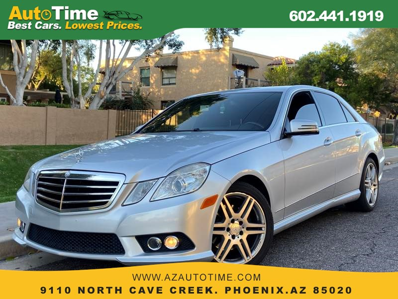 2010 Mercedes-Benz E 350 Luxury Sedan