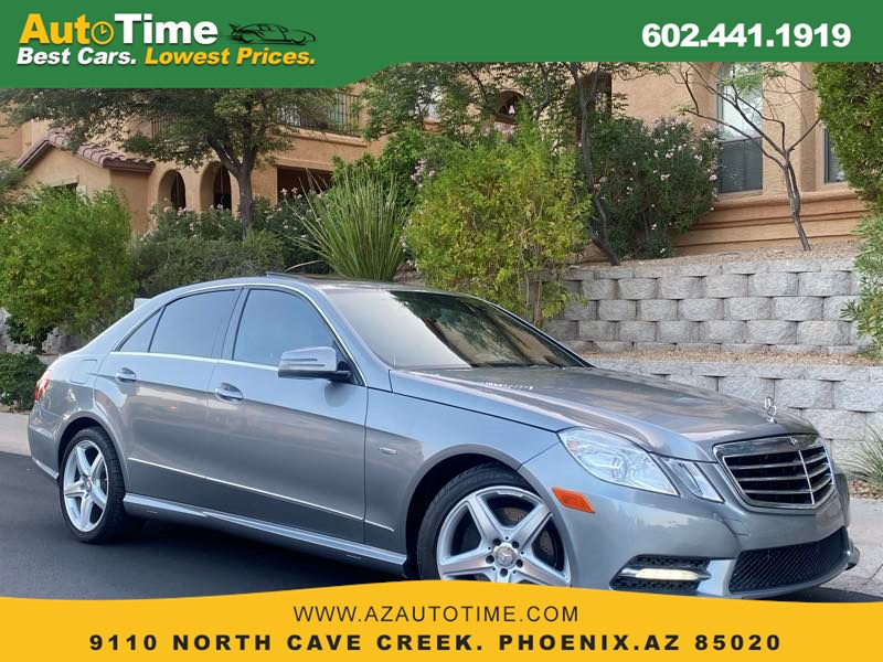 2012 Mercedes-Benz E 350 Luxury Sedan