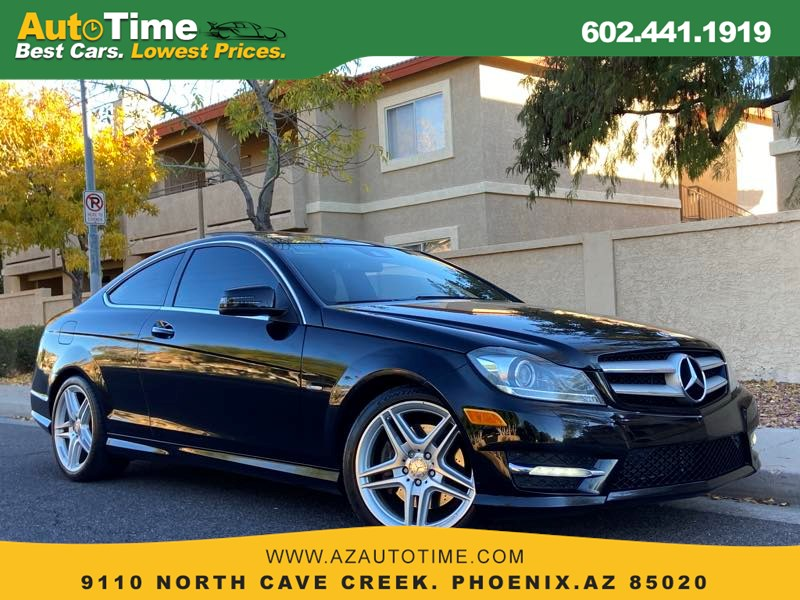 2012 Mercedes-Benz C 350 Coupe