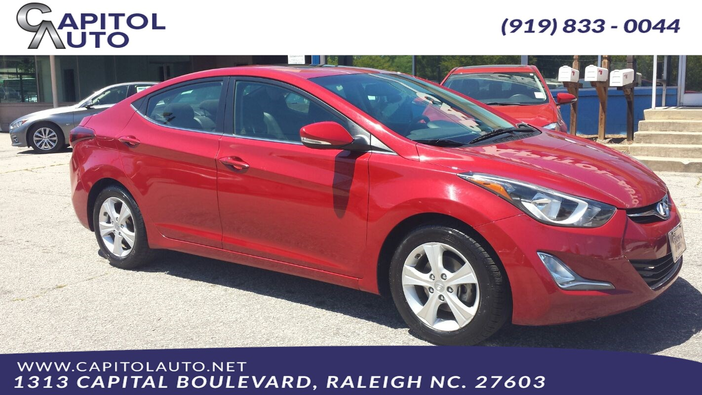 2016 Hyundai Elantra Value Edition >> Used 2016 Hyundai Elantra Value Edition In Raleigh