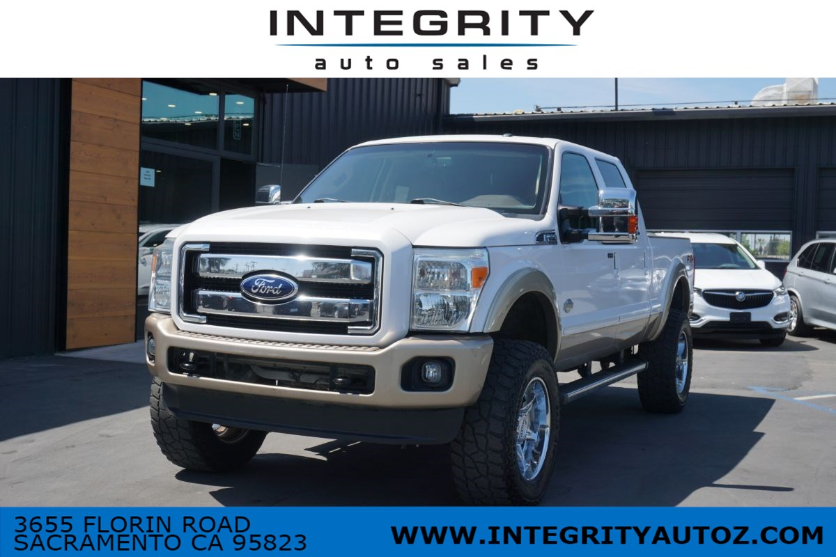 2011 Ford Super Duty F-250 SRW Diesel King Ranch Pickup 4D 6 3/4 ft
