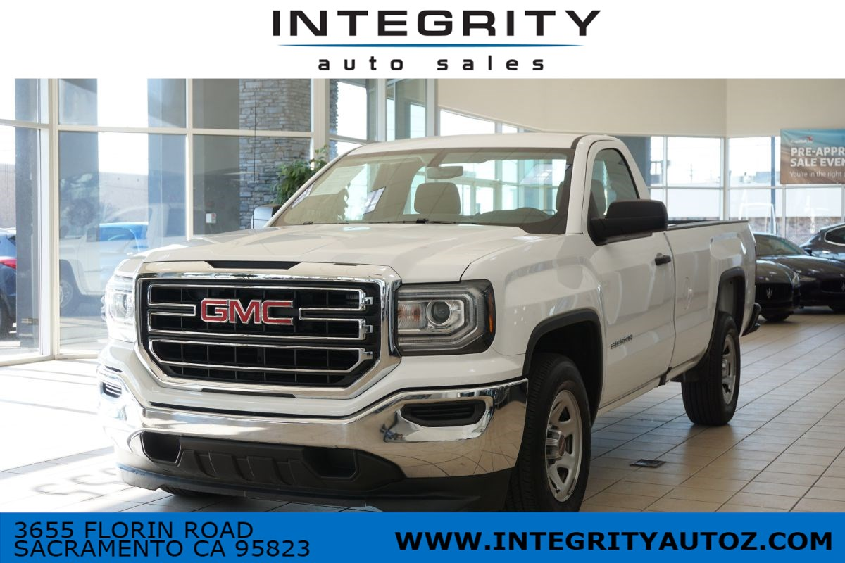 2018 GMC Sierra 1500 Pickup 2D 8 ft