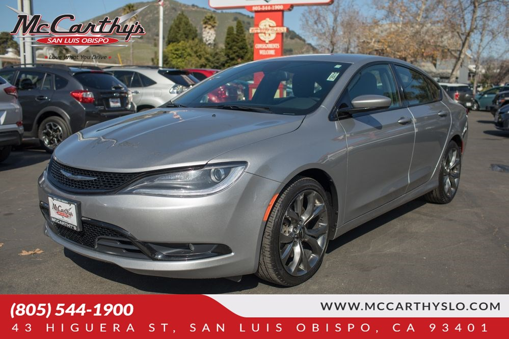 Sold 2016 Chrysler 200 S In San Luis Obispo