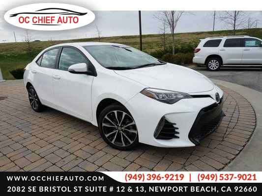 2017 Toyota Corolla SE-Navigation-Sunroof-Leather seat