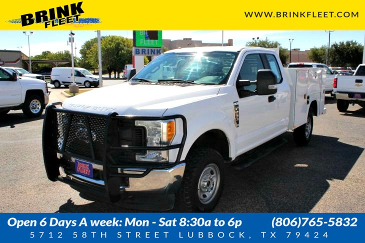 2017 Ford Super Duty F-250 SRW XL Utility Box
