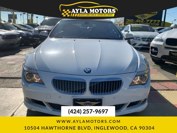 Used 2010 Bmw 6 Series 650i In Inglewood