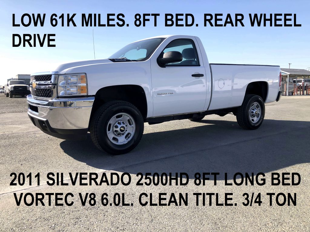 2011 Chevrolet Silverado 2500HD Work Truck