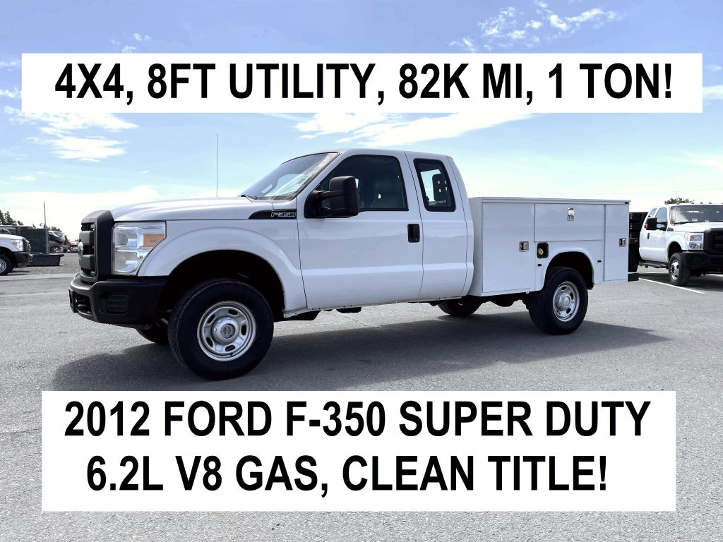 2012 Ford Super Duty F-350 SRW XL