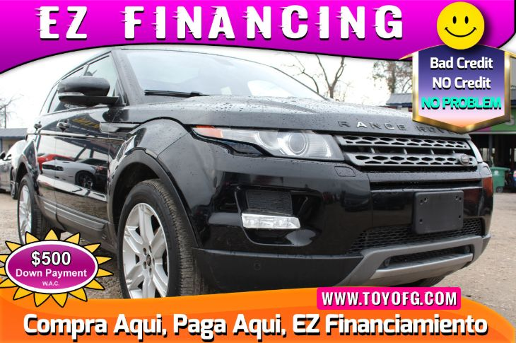 2013 Land Rover Range Rover Evoque Pure Plus Turbo